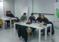 Empresas durante la celebración de uno de los cursos del proyecto ECOOESE