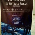 Cartel del estreno Explorando el Sistema Solar