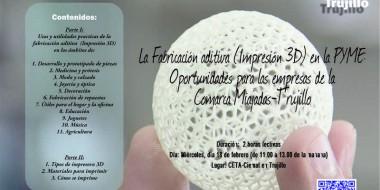 CETA-Ciemat acoge taller formativo sobre usos y prácticas de la impresión en 3D