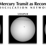 Último tránsito de Mercurio visible desde Europa. La observación se realizó simultáneamente desde tres nodos de proyecto solar GONG, Learmonth (Australia), UDAIPUR (India) y el Observatorio del Teide (IAC, Tenerife, España)